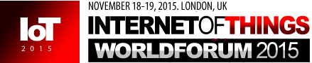 IoT Conference - IoT WORLD FORUM 2015